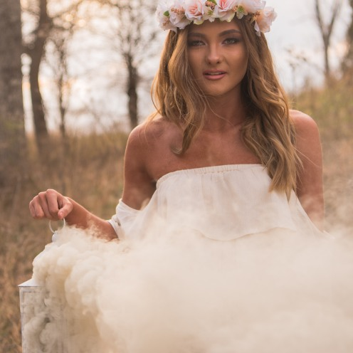 Santana - Woodland Dreams Styled Shoot
